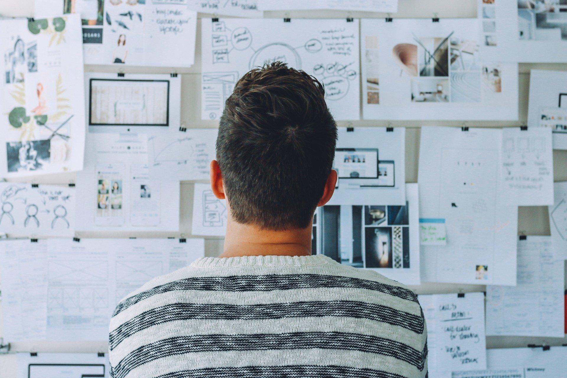 Construção de uma marca como designer